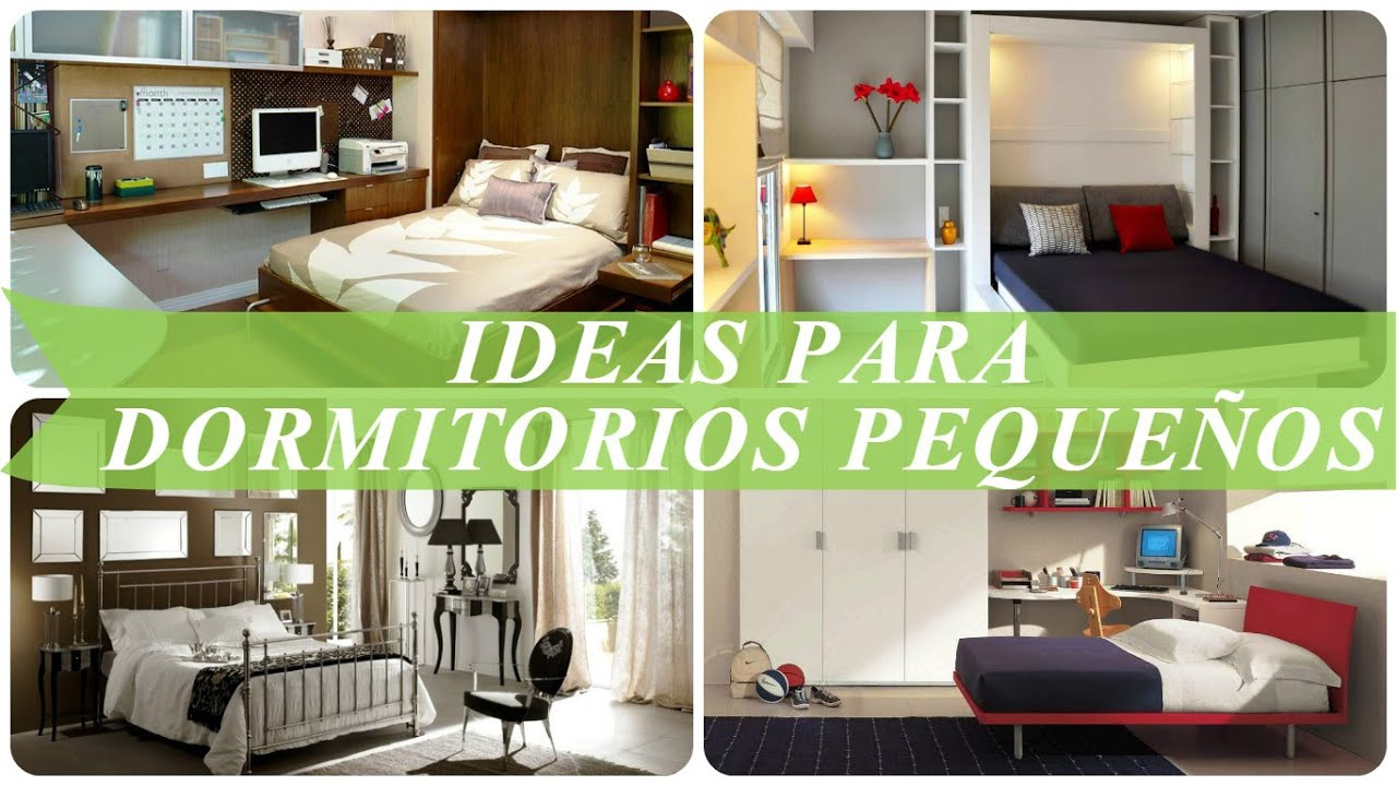 Ideas para dormitorios peque os youtube for Ideas para pisos pequenos fotos