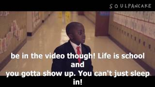 Kid President39;s Pep Talk to Teachers and Students me titra