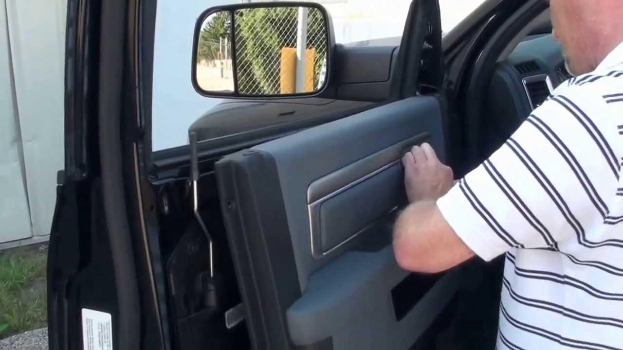 20092013 Dodge Ram Tow Mirror Installation  YouTube