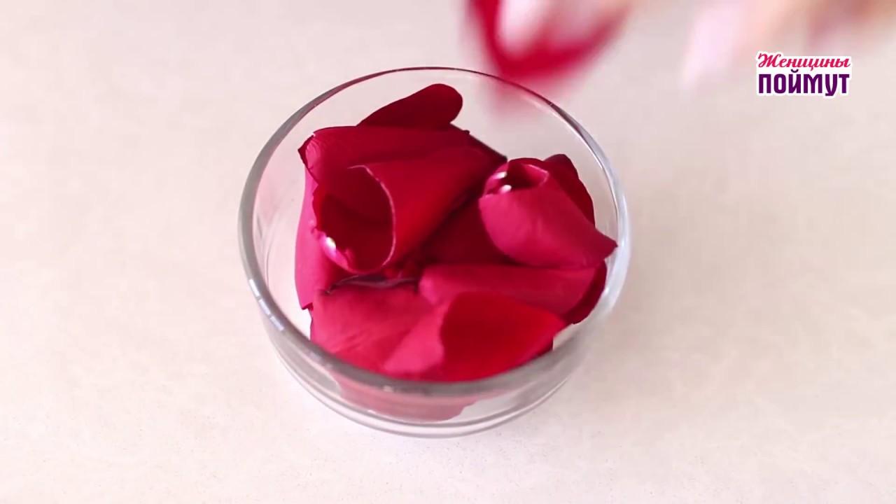 Розовое масло для лица и волос