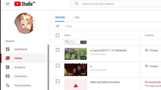 YouTube Studio Beta    Video Editor   Cut out the middle of a video