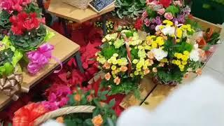 베트남 호치민에 새로생긴 롯데마트 꽃판매장