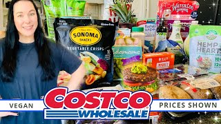 Costco Haul! | PLANT BASED SALE ITEMS THIS MONTH! | Prices Shown | August 2020