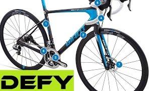 Giant Endurance Road Bikes Range: Defy Advanced SL, Pro, Disc. Buyers Guide.