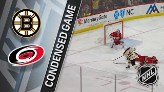03/13/18 Condensed Game: Bruins @ Hurricanes