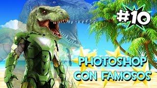 EL T-REX IRONMAN | PHOTOSHOP CON FAMOSOS #10