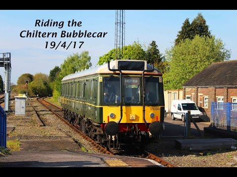Riding the Chiltern Bubblecar: Princes Risborough to Aylesbury 19/4/17