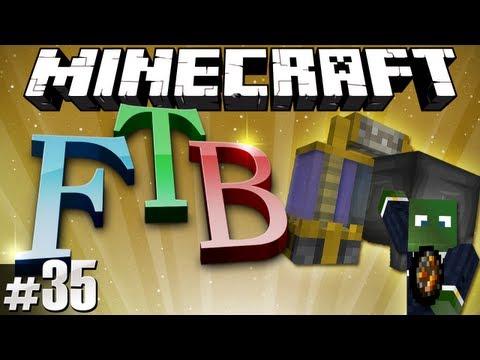Minecraft Feed The Beast #35 - Alembics & Jetpacks!