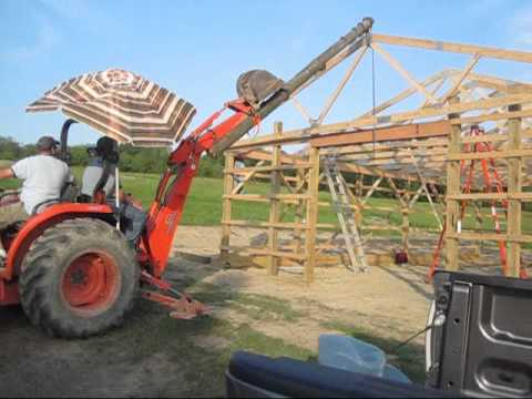 Setting Trusses Youtube