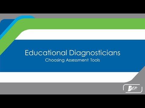 Educational Diagnosticians Choosing Assessment Tools