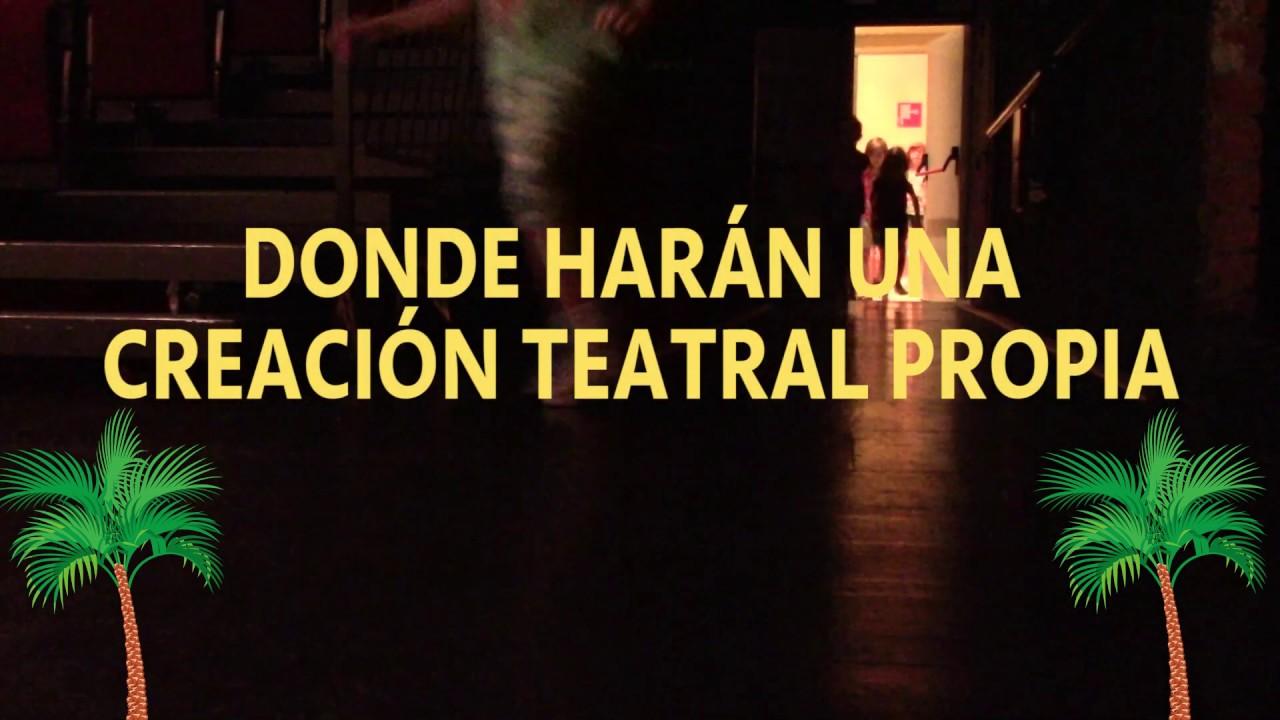Veranear Teatro - Campamento Urbano de Teatro Escuela Cuarta Pared ...