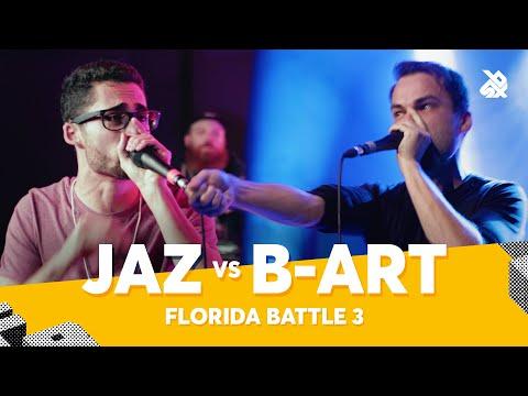 JAZ vs B-ART | Florida Beatbox Battle 2020 | Battle 3