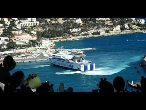 NGV Liamone au départ de Nice pour la Corse 08/2009