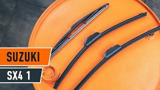 Guide: Sådan udskifter du vinduesviskere bagtil på SUZUKI SX4 1