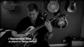 I Remember Wes, as played by George Benson