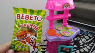 Şapşik Hamburgerci Ayşe Ebrara Bebeto Hamburger Getirdi. Eğlenceli Çocuk Videosu