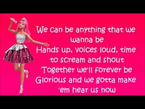 Barbie Rock'n Royals - Brand New Sound - Lyrics