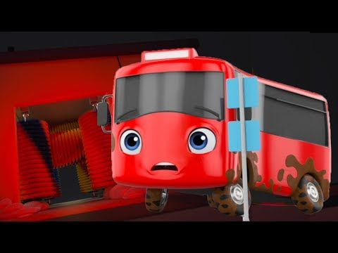 My Little Red Bus | Buster And The Carwash | BRAND NEW! | Baby Songs | Little Baby Bum