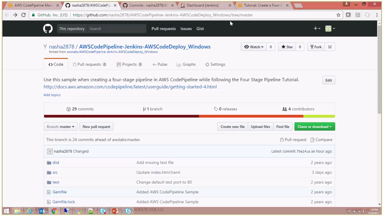 AWS Tutorial - Create a Four-Stage DevOps Pipeline + Manual Approval & Prod  Deployment