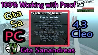 How to install Cleo with Cleo Manu in Gta Sanandreas PC version   Cleo 4.3