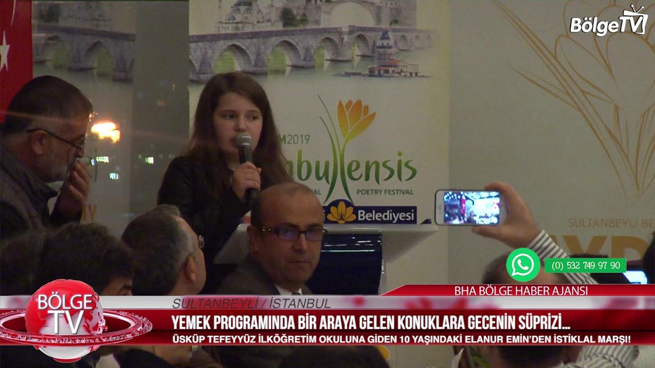 ÜSKÜPLÜ ELANUR'DAN İSTİKLAL MARŞI