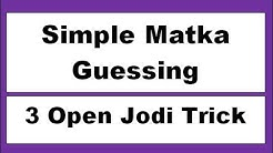 Simple Matka Guessing- all new Simple Tricks today Matka Ank Simple Matka Guessing Kalyan, Mumbai