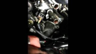 2002 Toyota Highlander thermostat / heater core