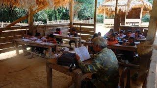 เที่ยวเมืองซำเหนือ EP15 :บรรยากาศการเรียน โรงเรียนประถมบ้านเตื้อม เด็กน้อยตาฮักหลาย