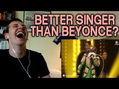 Crazy in love (BEYONCE COVER) - หน้ากากเต่า Tortoise Masked | THE MASK SINGER 2 REACTION!!!