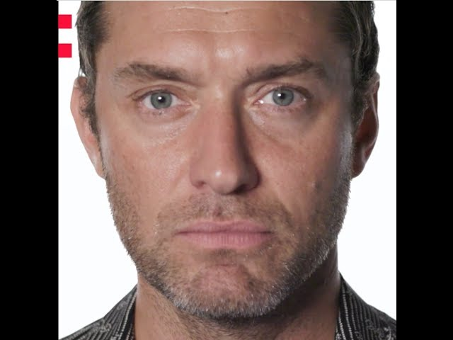 Frame of a video of Jude Law speaking about the Odyssey project