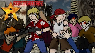 State of Emergency (PS2) Review - Black Maverick Sheep Hunting