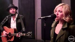 "Cory Chisel and Adriel Danae ""Never Meant to Love You"" Live at KDHX 12/14/12"