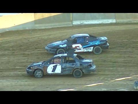 Mini Stock Heat Two | Old Bradford Speedway | 9-11-16