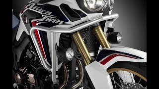Honda Africa Twin CRF1000L Touratech Crash Bar Install