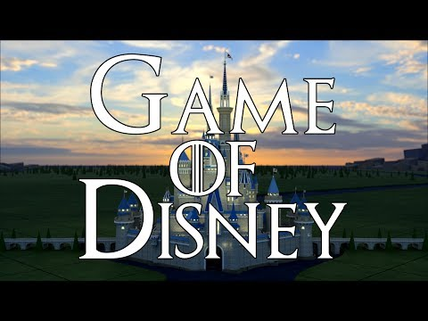 Game of Disney - a Game of Thrones Intro animation
