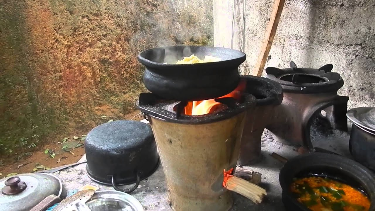 Sri Lanka ශ් රී ලංකා Ceylon Kitchen Stove Firewood Youtube