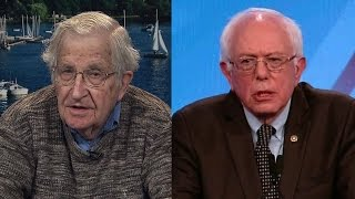 Chomsky on Supporting Sanders & Why He Would Vote for Clinton Against Trump in a Swing State