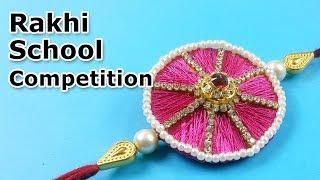 Rakhi Making for School Competition   Rakhi Making for Kids   Easy Rakhi 2019   StylEnrich
