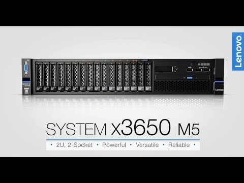 Lenovo System x3650 M5 Product Video