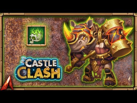 Corrosive Rhino! Rockno With Corrode! Castle Clash