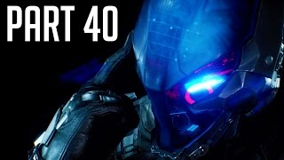 Batman Arkham Knight Walkthrough Gameplay Part 40 - Cloudburst Tank Boss Battle (PS4/XB1/PC)