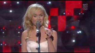 Anna Bergendahl - This Is My Life 2 (LIVE Melodifestivalen 2010) Results of Televoting and Reprise!!