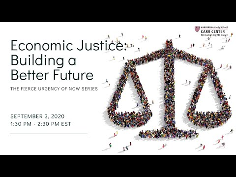 Economic Justice: Building a Better Future on YouTube