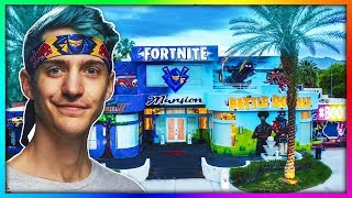 Ninja Reveals His $15,000,000 Mansion.. (Insane)