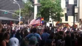 Pride parade in New York 2015