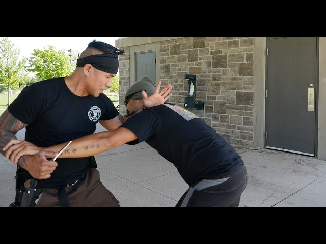 Knife Fighting Tactics: Cutting without Getting Cut!