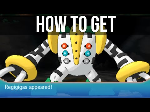 How to get Regigigas in Pokémon Omega Ruby and Alpha Sapphire