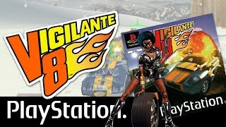 VIGILANTE 8 PS1 GAMEPLAY & PLAYTHROUGH Quest mode with HOUSTON 3 / PSX / Playstation