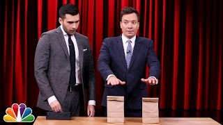 Magician Dan White's Hidden Spike Trick with Jimmy Fallon