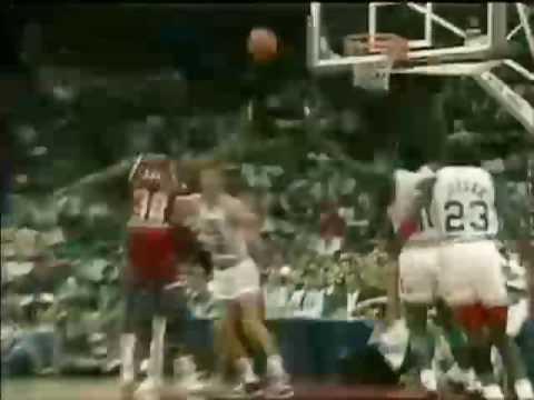 NBA All Star Game 1990 - Jordan, Magic, Isiah, Bird, Barkley